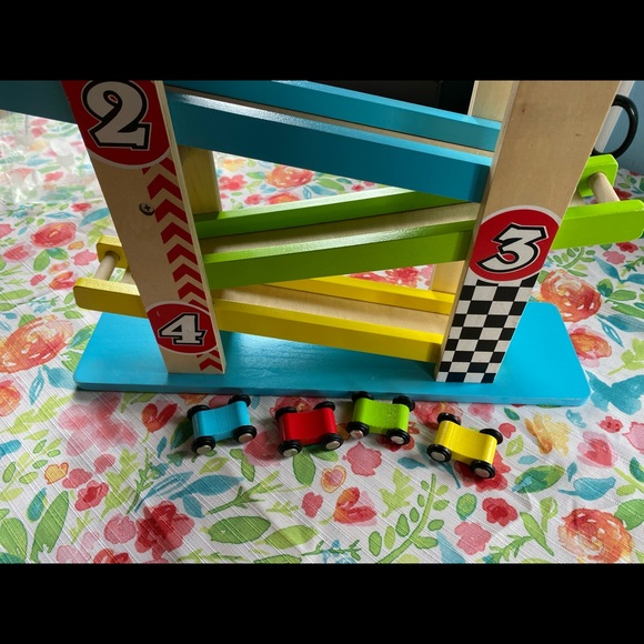 ❌SOLD❌ Wooden toy raceway